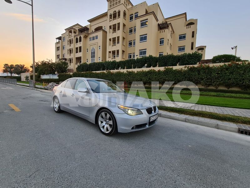 BMW 530i 2006 GCC FULLY LOADED IN PERFECT CONDITION  NEW BATTERY