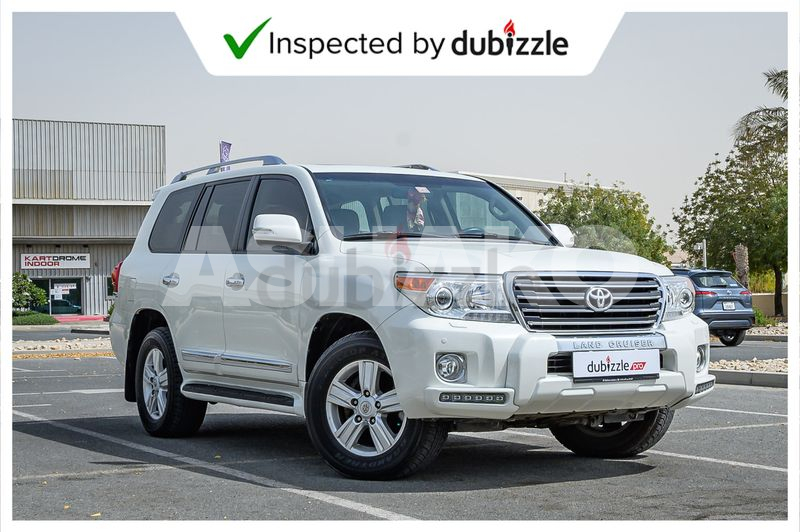 AED2973/month | 2015 Toyota Land Cruiser GXR 4.6L | Full Toyota Land Cruiser Service History | GCC