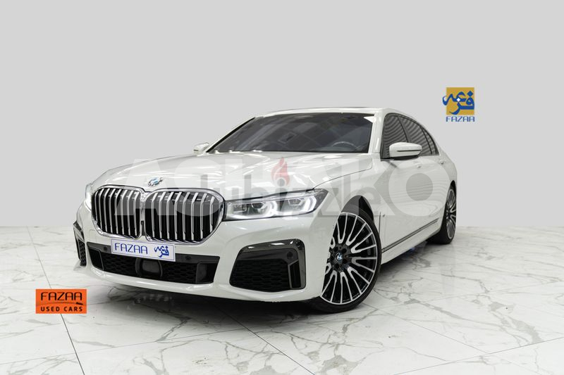 BMW 740 Li M Kit Sport 2020 White - with Warranty and Service Contract