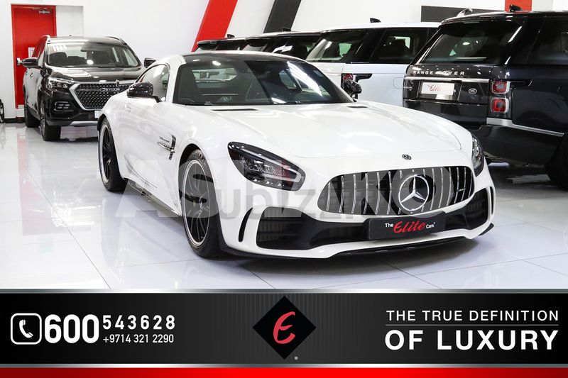 2019!! BRAND NEW MERCEDES-BENZ AMG GT R **COUPE** | GCC SPECS | BURMESTER SOUNDS SYSTEM | WARRANTY