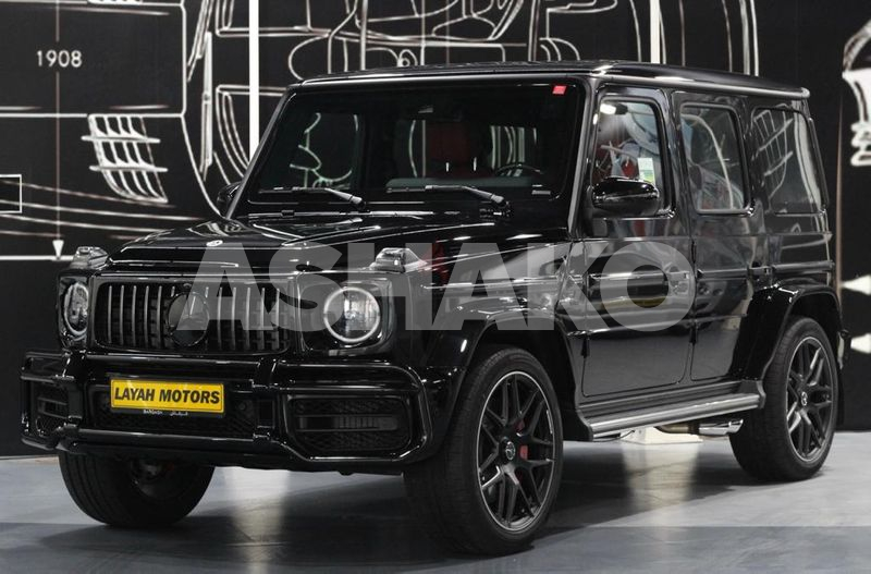 Mercedes G63 Model 2021 Carbon Fiber With Night Package (5 years Warranty and Contract Service)