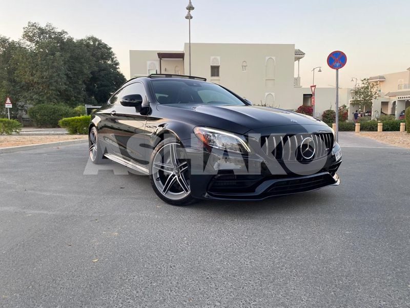 2020 Mercedes C63 AMG Coupe