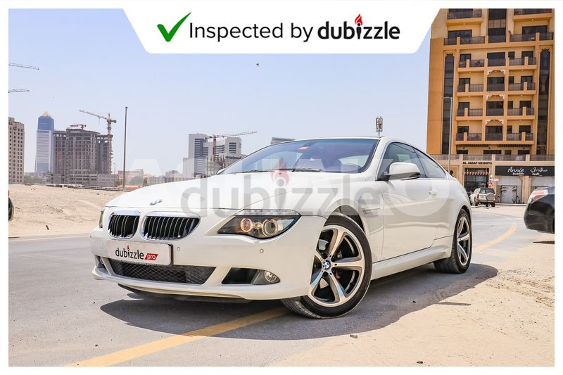 Inspected Car   2010 BMW 630i 3.0L   Full Service History   Coupe   GCC Specs
