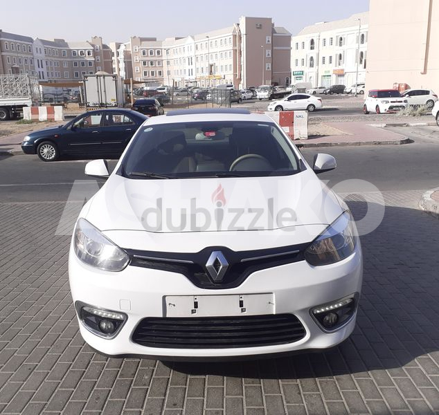 Fluence 2.0, Full Option, 350/PM, Low Mileage, GCC, Single Owner in Excellent Condition