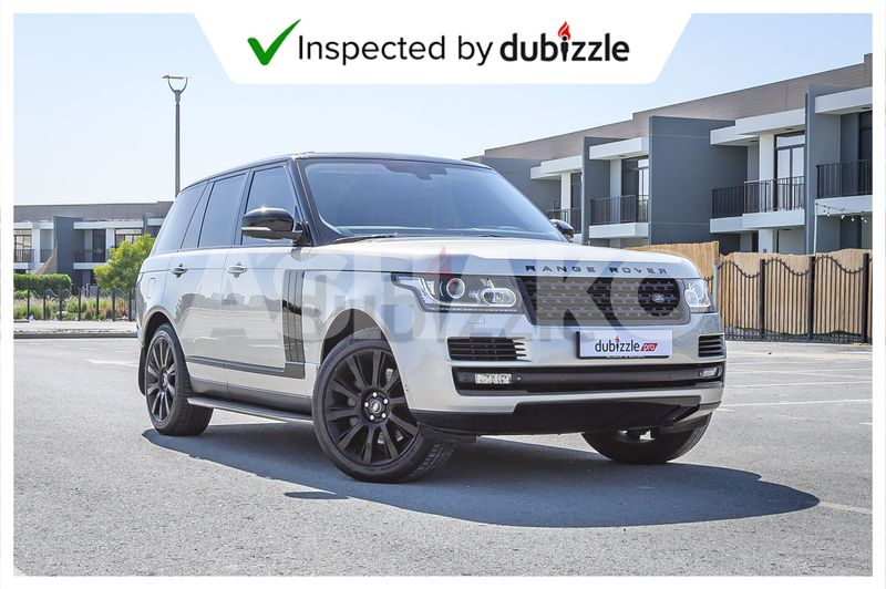 AED5113/month   2014 Land Rover Range Rover Vogue SE 5.0L   Full Land Rover Service History   GCC