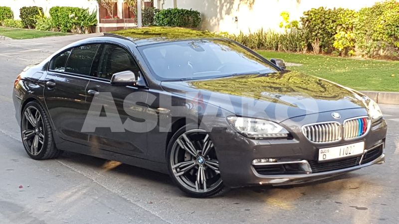 AWESOME//BMW 650i GRAND COUPE M SPORT//GCC SPECS.DIRECT OWNER((100% FREE ACCIDENT))LIMITED EDITION.