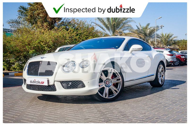 Inspected Car | 2013 Bentley Continental 4.0L | Full Bentley Service History | GCC Specs