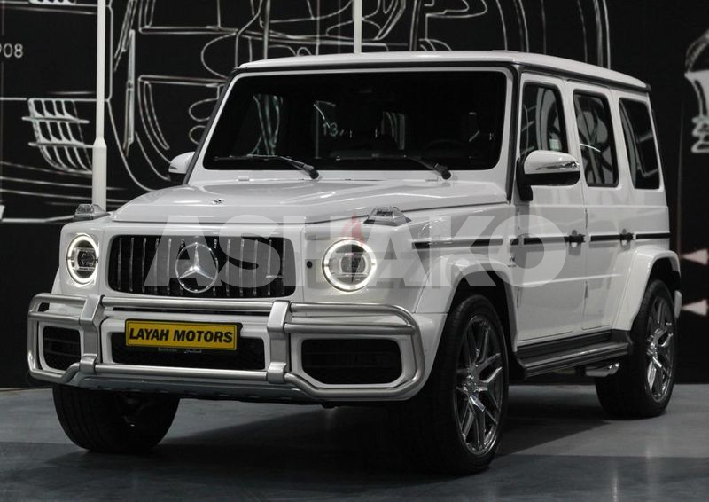 Mercedes G63 Model 2021 Carbon Fiber (5 years Warranty and Contract Service)