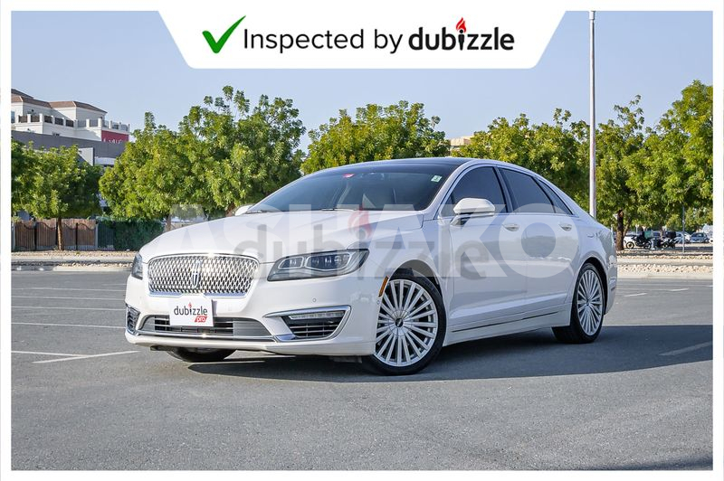AED1600/month | 2017 Lincoln MKZ Reserve 3.0L | Full Lincoln Service History | GCC Specs