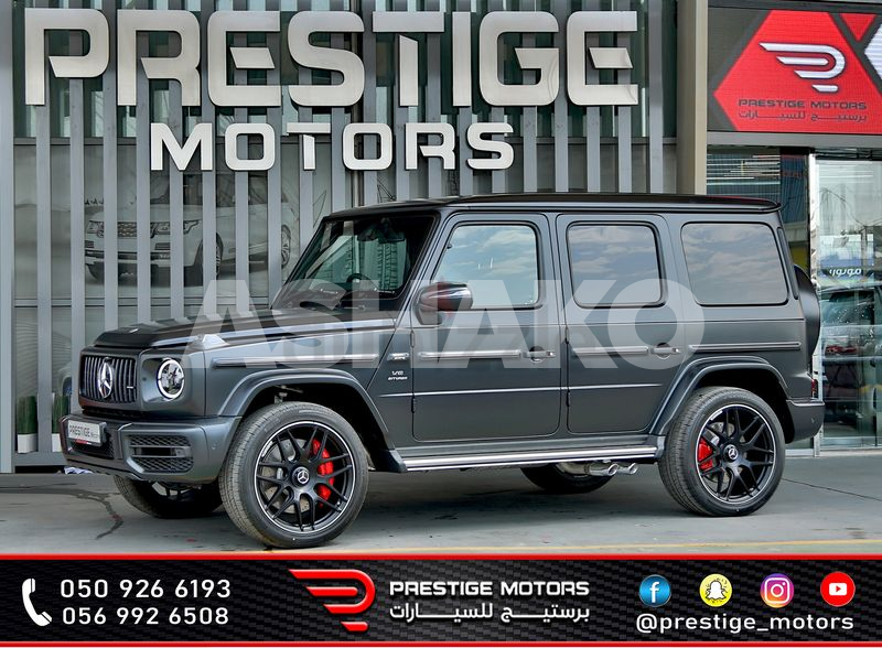 MERCEDES BENZ G 63 AMG 2021 - RIGHT HAND DRIVE