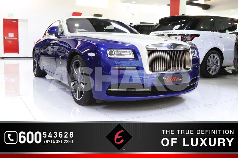 *2014!! ROLLS ROYCE WRAITH | GCC SPECS | LOW KM IN PERFECT CONDITION