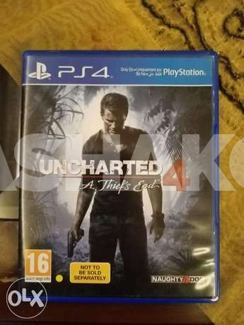 Uncharted 4 and fifa 16 for trade on ark