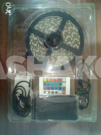 RGB Led Strip 5 Meters with 3M Sticker (10...