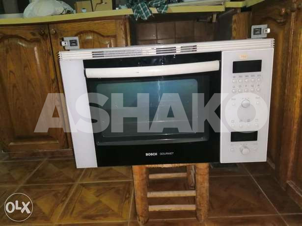 Bosch oven and microwave