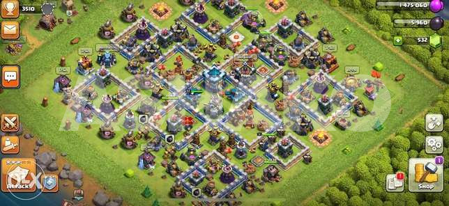 TH13 Clash of Clans
