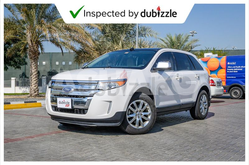 Inspected Car   2012 Ford Edge Limited 3.5L   Full Service History   GCC Specs