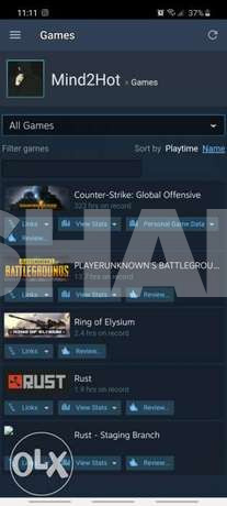 steam acc for sale 40$ only