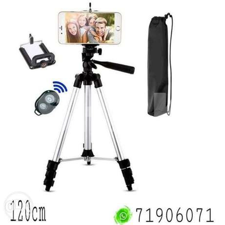 Mobile tripod 120cm with shutter release س...