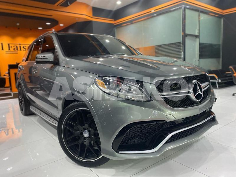 MERCEDES GLE 350 2016 AMG KIT IN GREAT CONDITIONS