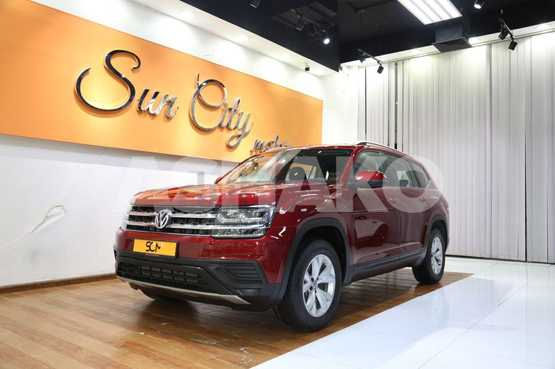 AED 1380/MONTH((WARRANTY TILL 06/2022)) 2019 VOLKSWAGEN TERAMONT TSI -4MOTION 7-SEATER SUV-BEST DEAL