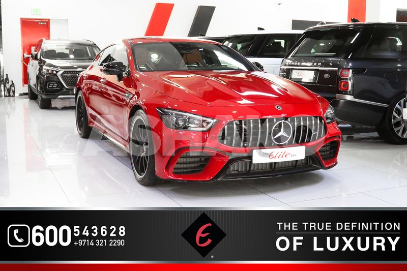 2019!! BRAND NEW MERCEDES BENZ GT 63S 4MATIC | GCC SPECS | MERIDIAN SOUNDS | WARRANTY AVAILABLE