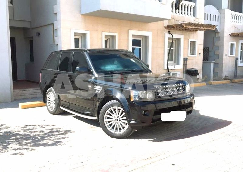 Stunning Black Land Rover Range Rover Sport 2012 GCC, Fully Orignal Paint, Immaculate Condition