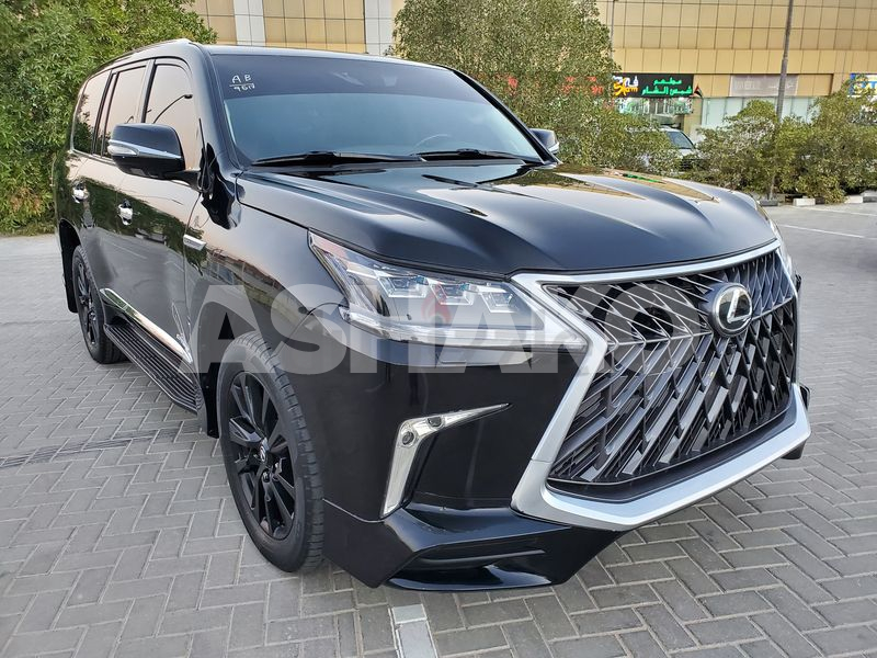 LEXUS LX570 2009 FACELIFTED 2020 G.C.C IN EXCELLENT CONDITION