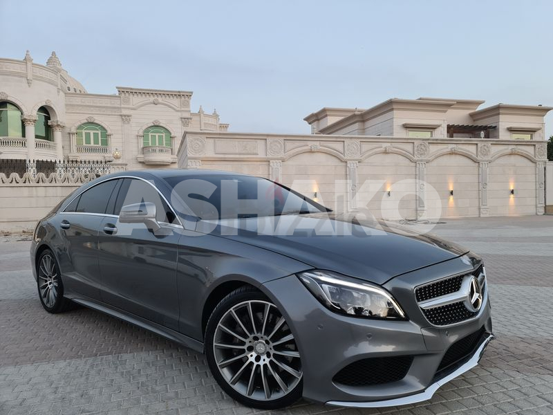 MERCEDES CLS400 2016 PERFECT CONDITION FULL OPTION GCC