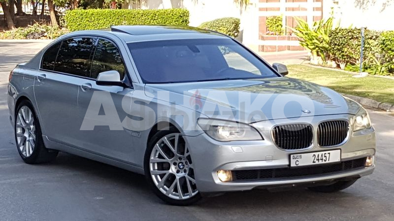 LIMITED EDITION//BMW 750LI TWIN TURBO V8//GC SPECS.DIRECT OWNER//100% FREE ACCIDENT//AMAZING LOOK.