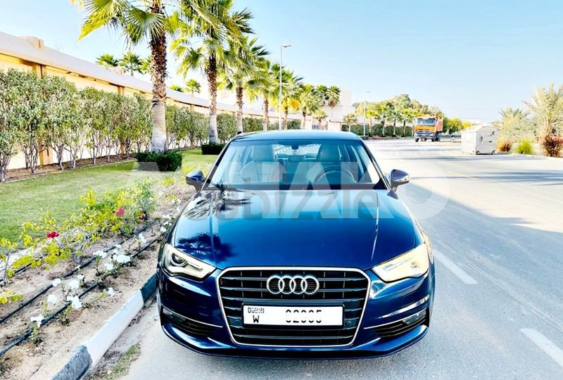 Audi A3 2015 Ambition GCC  (630*60) Also on 0% DP, Leather Seats,Push Start Family Used#0582998080