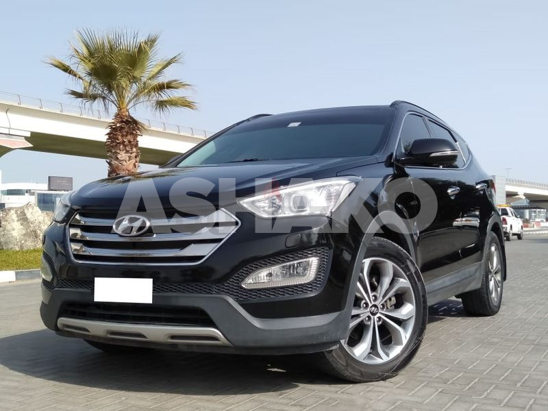 WELL MAINTAINED - 2015 HYUNDAI SANTA FE 3.3L 4WD - GCC SPECS - BEST PRICE!