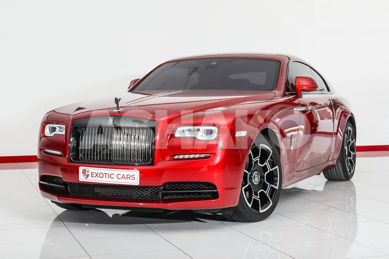 Warranty + Service until Oct 2023 || Rolls-Royce Wraith Black Badge 2019 Red-Red+Black 9,000 KM