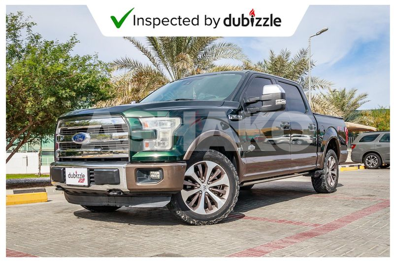 AED1966/month   2015 Ford F-150 King Ranch 5.0L   Full Ford Service History   GCC Specs