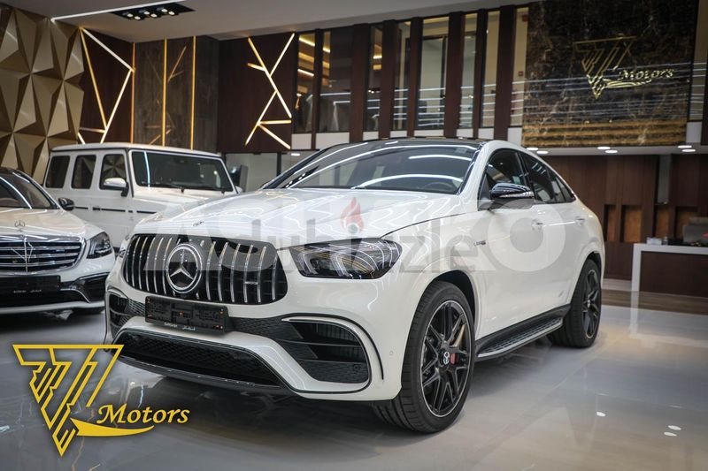 2021 Mercedes GLE 63s Coupe GCC 3 years