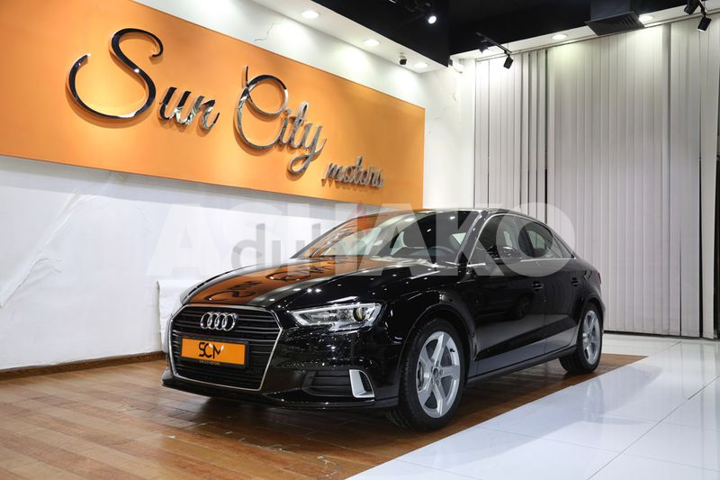 AED1364/MONTH((WARRANTY AVAILABLE))2019 AUDI A3 35TFSI - BEST DEAL - IMMACULATE CONDITION