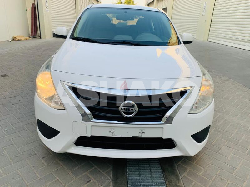 Nissan sunny 2016 GCC with Bluetooth and back cam