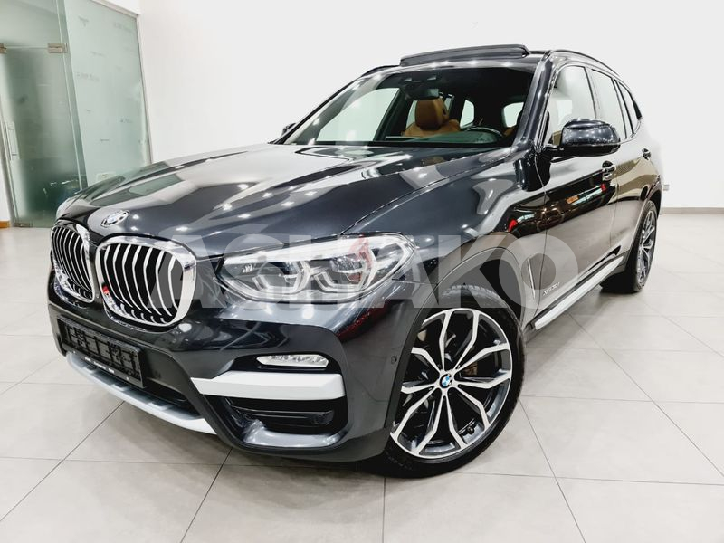 ( 2,250 AED PER MONTH ) BMW X3 XDRIVE 30i -XLINE-2018 - GCC - ONE YEAR WARRANTY-IMMACULATE CONDITION