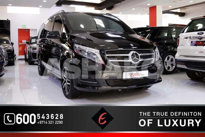 2017!! MERCEDES-BENZ V250 | GCC SPECS | LOW MILEAGE | 7-SEATERS | PERFECT CONDITION