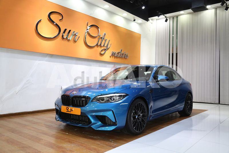 AED4216/MONTH((WARRANTY AND SERVICE TILL 08/2025))2020 BMW M2 405BHP - ONLY 5000 KM - CALL US NOW !!