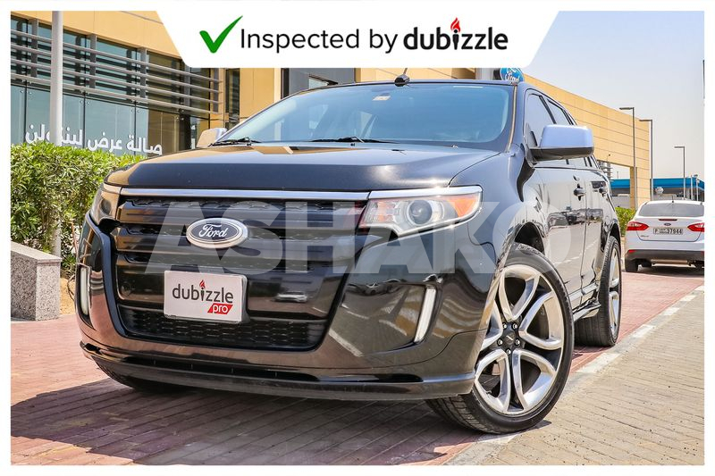 Inspected Car   2013 Ford Edge Sport 3.7L   Full Ford Service History   GCC Specs