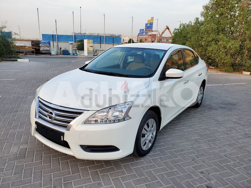 2016 NISSAN SENTRA GCC MIDOPTION IN EXCELLENT CONDITION (430* MONTHLY WITH NO DOWNPAYMENT)