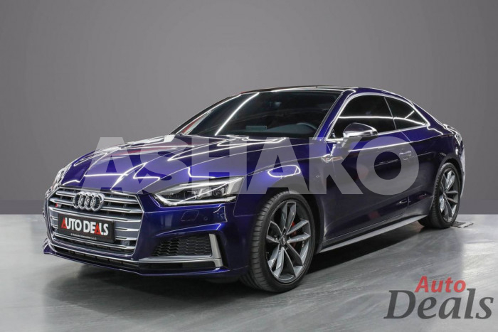 AUDI S5 COUPE – LAUNCH EDITION 3.0 TFSI   2019   GCC   UNDER WARRANTY SERVICE CONTRACT