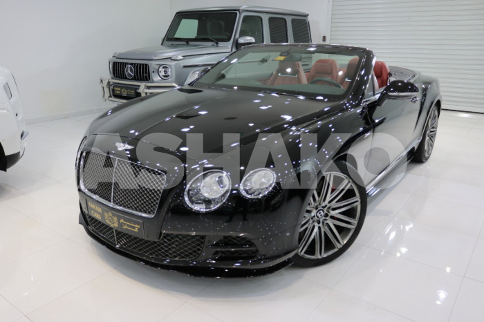 Bentley Continental GTC Speed, W12, 2015