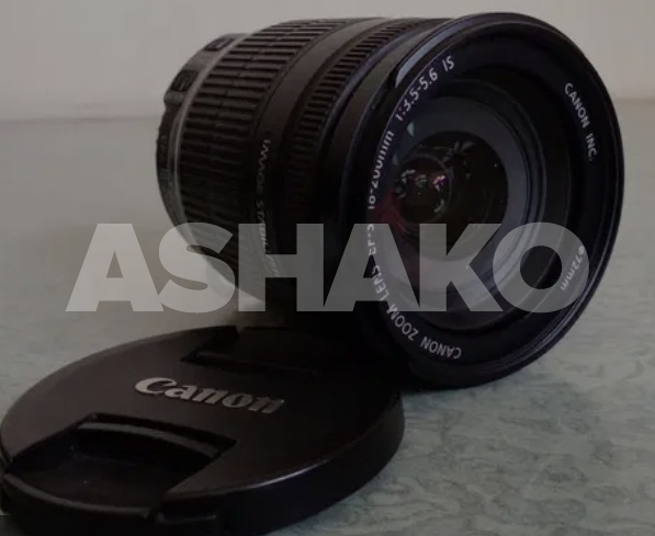 Canon EF-S 18 - 200mm