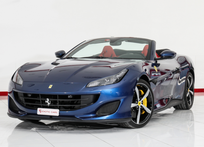 Ferrari Portofino 2019 Blue-Red // Warranty until Nov 2021 + Service until Nov 2025