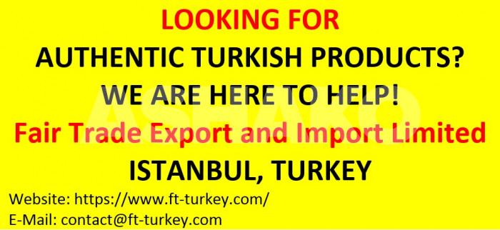 LOOKING FOR AUTHENTIC TURKISH PRODUCTS? WE ARE HERE TO HELP!