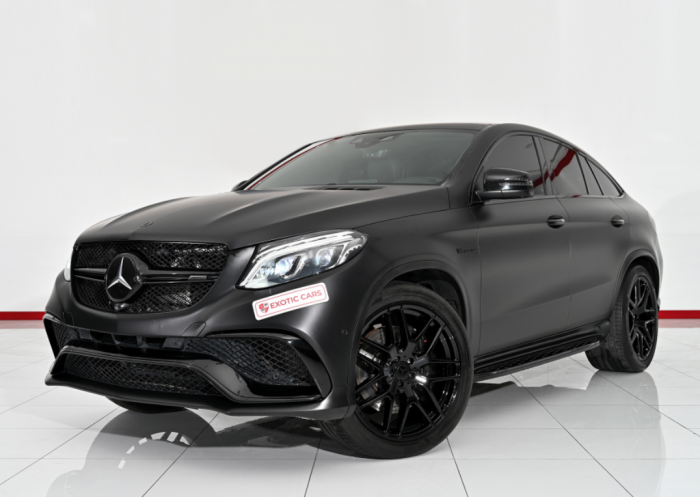 Mercedes-Benz AMG GLE 63 S Coupe 2018 Black-Brown