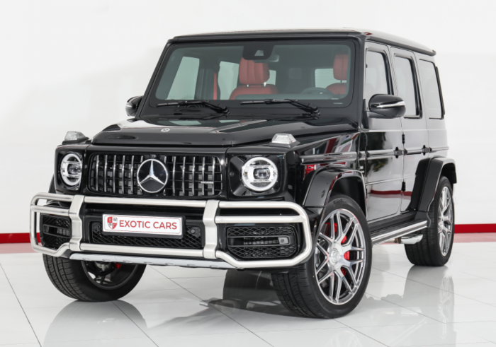 Mercedes-benz G63 AMG 2021 Black-Red New    5 Years Warranty + 4 Years Service