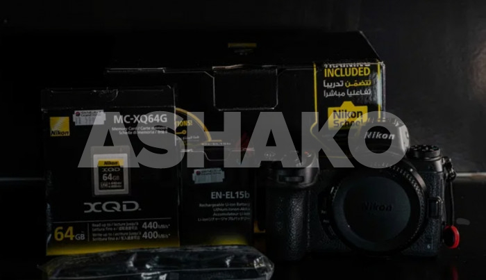 Nikon z6 with 24-70mm f4 only