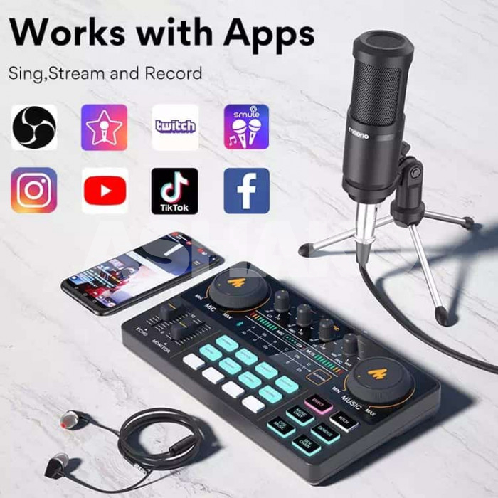 Quality recording mics and sound cards